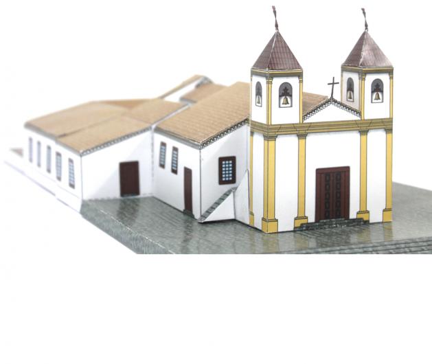 ERMIDA DA PADROEIRA DE MINAS GERAIS – BASÍLICA DA PIEDADE no Santuário Basílica Nossa Senhora da Piedade